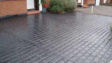 Imprinted Concrete Sealing